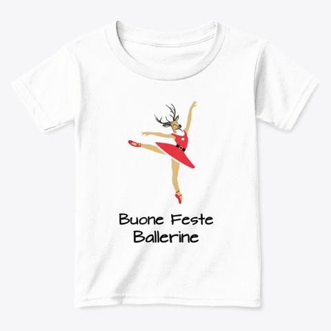Renna Ballerina White  T-Shirt Front