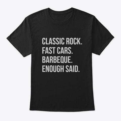 Enough Black T-Shirt Front