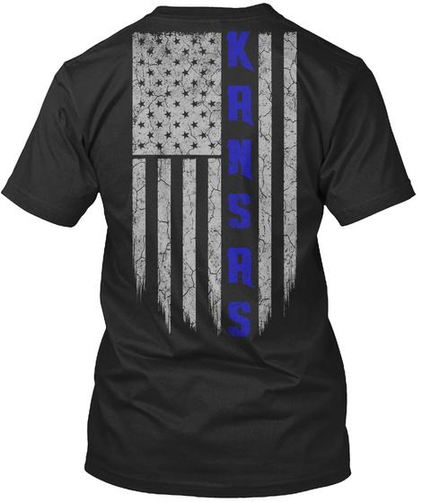 KS-KANSAS THIN BLUE LINE Hoodie Tshirt