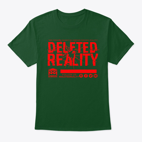 Dg ( Deleted Reality) Deep Forest T-Shirt Front