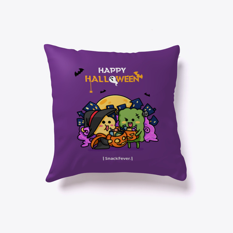 Snack Fever Halloween   Limited Edition Purple T-Shirt Front