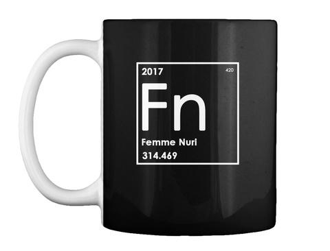 2017 Fn Femme Nuri 314.469 Black Mug Front