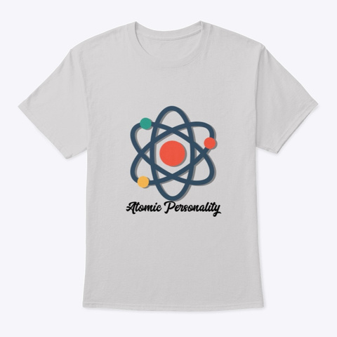 Atomic Personality T Shirt Light Steel T-Shirt Front