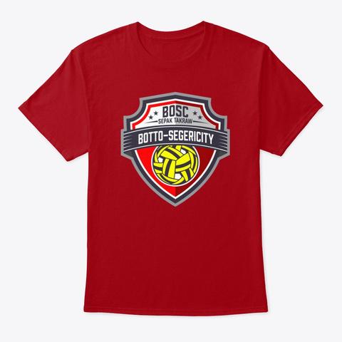 Rollspike Addict Deep Red T-Shirt Front