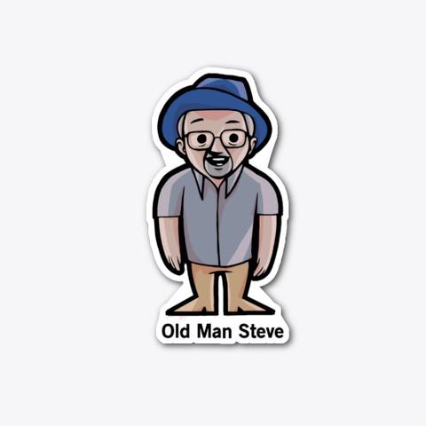 Old Man Steve Standard T-Shirt Front