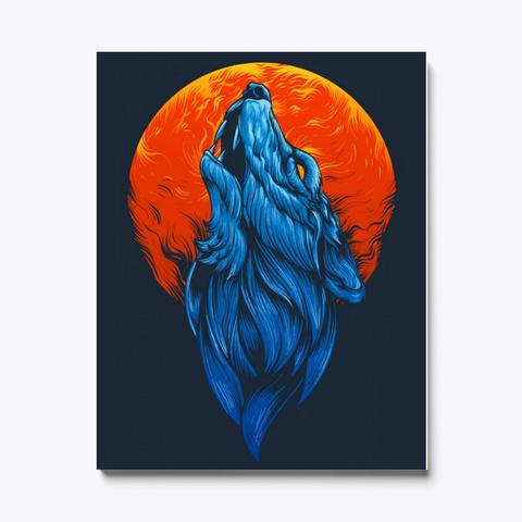 Blue Wolf Standard T-Shirt Front