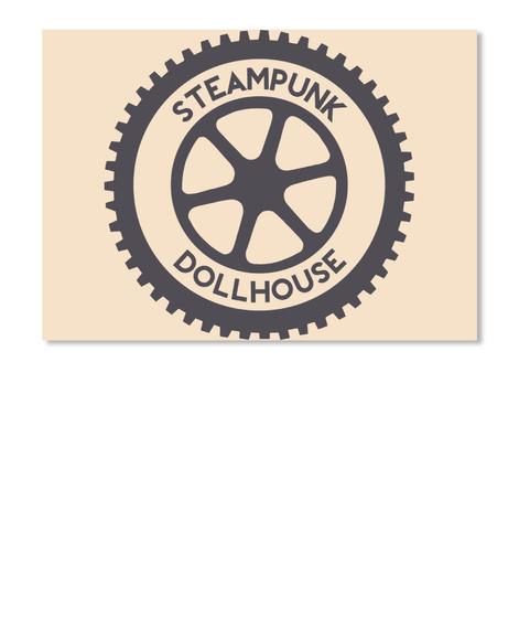 Steampunk Dollhouse Creme T-Shirt Front