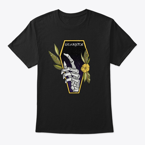 Hide. Never Die.  Black T-Shirt Front