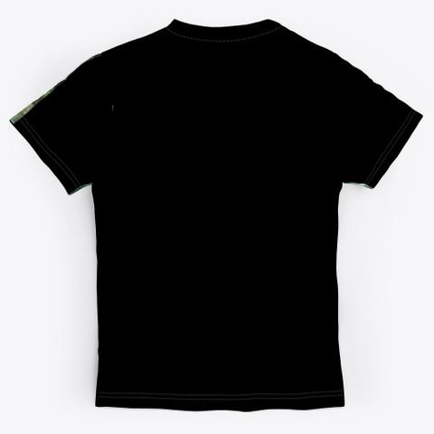 Gabby B Jungle Collection Black T-Shirt Back
