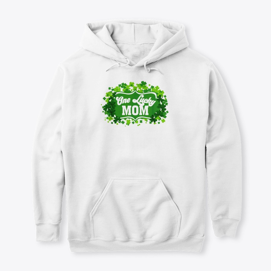 One Lucky Mom Irish St Patricks Shamrock - Good Cheap St Partricks Day Hoodies Shirt Design