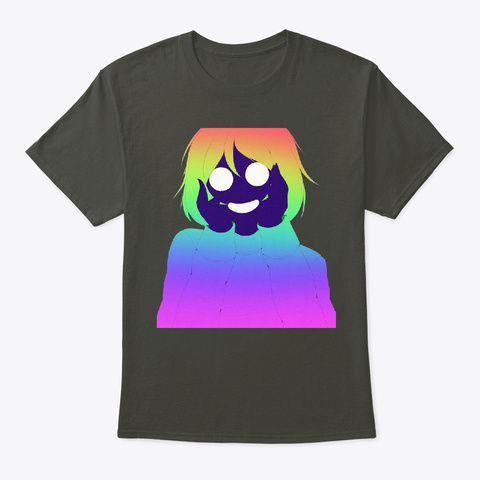 Yandere Trance Smoke Gray T-Shirt Front