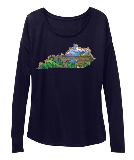 Kentucky Natural Bridge Midnight T-Shirt Front