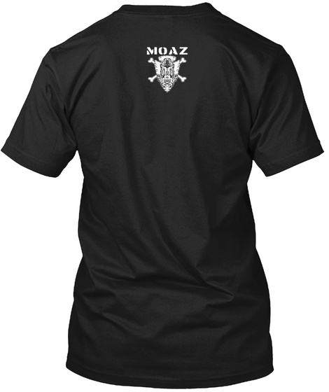 Midaz Black T-Shirt Back