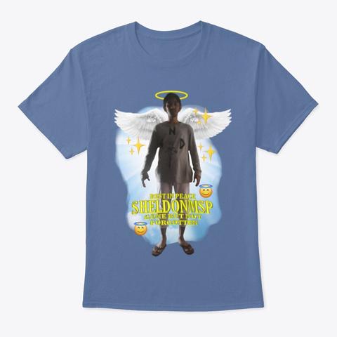 The Shirt Denim Blue T-Shirt Front