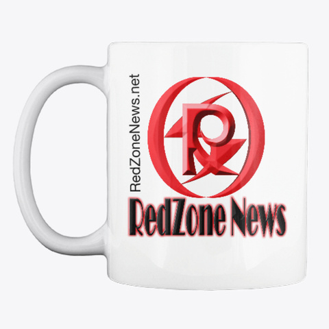 Redzone Mug White T-Shirt Front