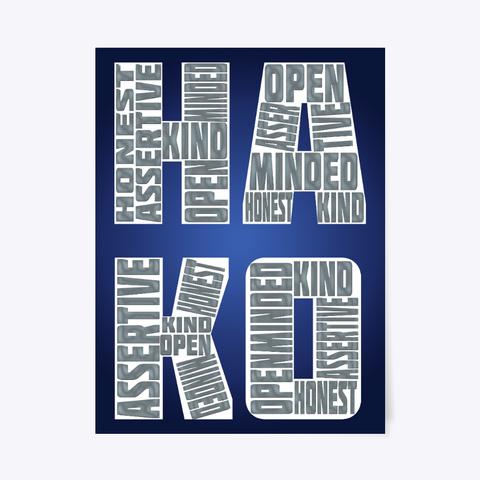 Hako Poster Standard T-Shirt Front