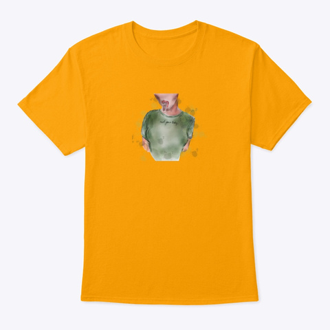 Not Your Baby  Gold T-Shirt Front