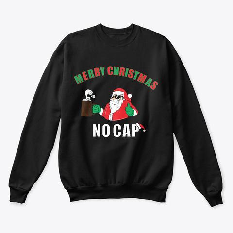 Fresh Christmas! Black T-Shirt Front