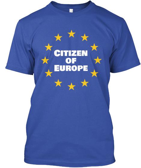 Citizen Od Europe T-Shirt Front