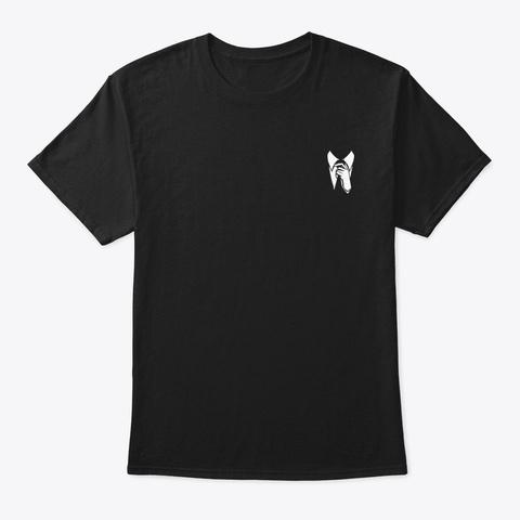 Unscripted Logo Black Black Camiseta Front