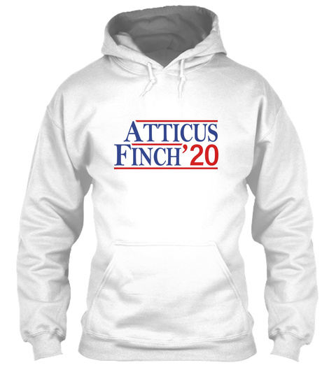 Atticus Finch 2020 White T-Shirt Front