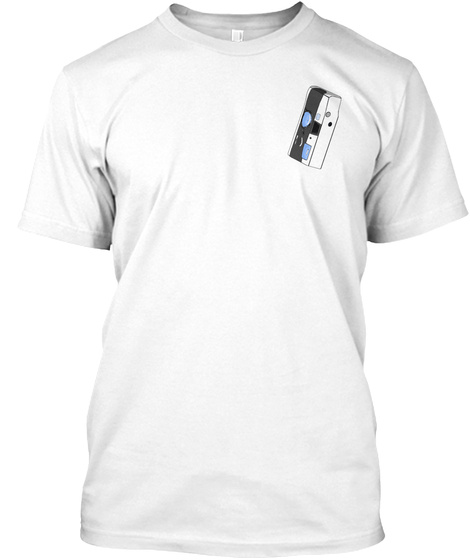 Davey Reilly   Disposable Camera White T-Shirt Front
