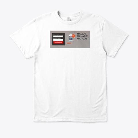 Dozex White T-Shirt Front