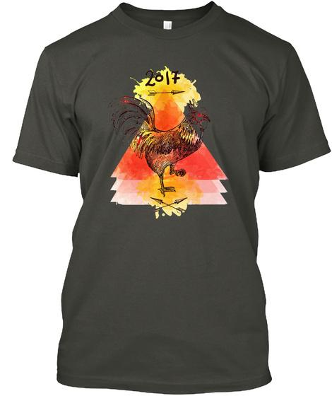2017 Smoke Gray T-Shirt Front