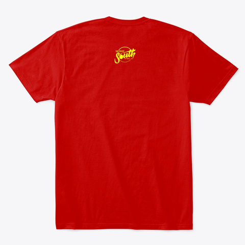 Luka Aint A Hawk Tee Classic Red T-Shirt Back