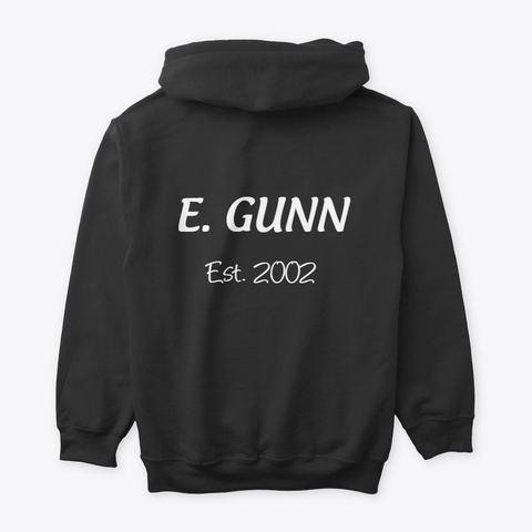 Emily   Birthday Present Black T-Shirt Back