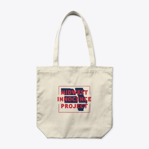 Mip Tote Bag Natural T-Shirt Front