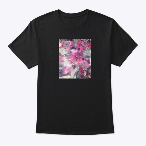 Hands Black T-Shirt Front