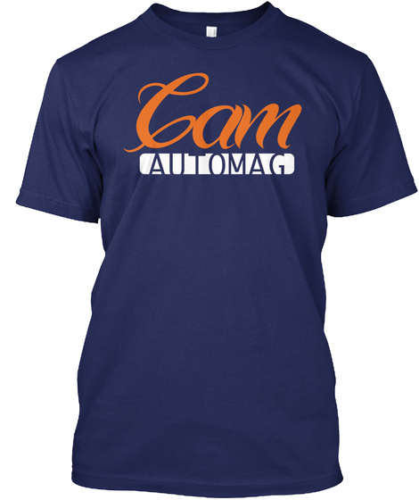 Cam Automag Midnight Navy T-Shirt Front