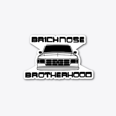 Bricknose Brotherhood Apparel Standard T-Shirt Front