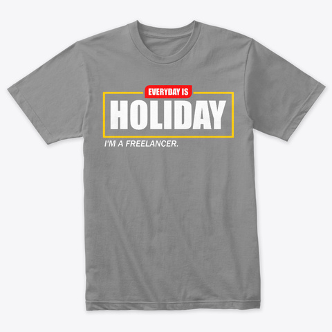 Freelancer Holiday Premium Heather T-Shirt Front