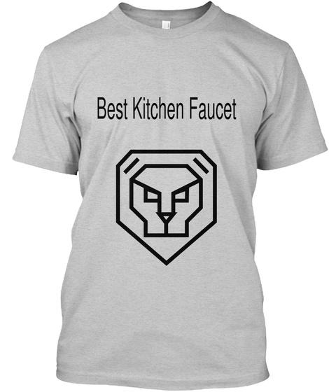 Best Kitchen Faucet Light Steel Kaos Front