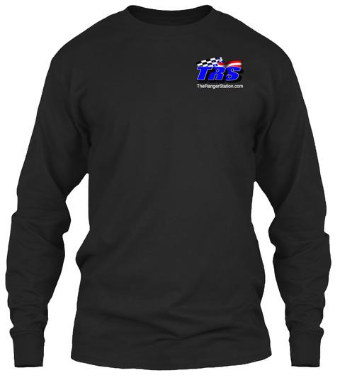 The Ranger Station.Com Black T-Shirt Front