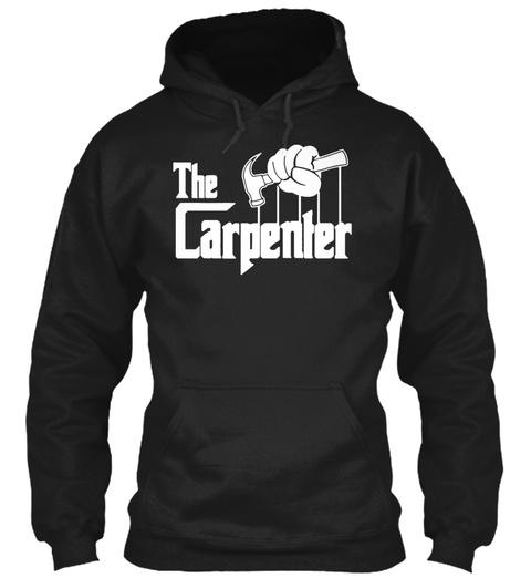 The Carpenter Black T-Shirt Front