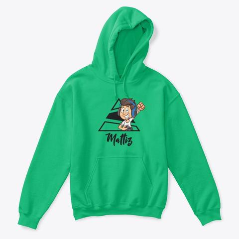Felpa Bambino Skin Mattiz! Irish Green T-Shirt Front