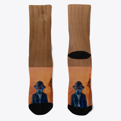Socks By Caine  Coral T-Shirt Front