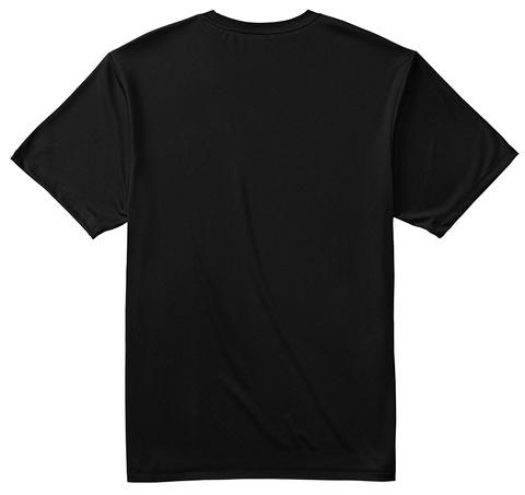 Dri Fit I Kayak So I Don't Choke People Black T-Shirt Back
