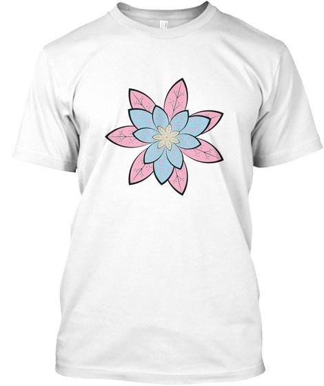 Lotus White T-Shirt Front