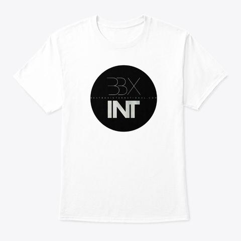 Bbxint Logo Black White T-Shirt Front
