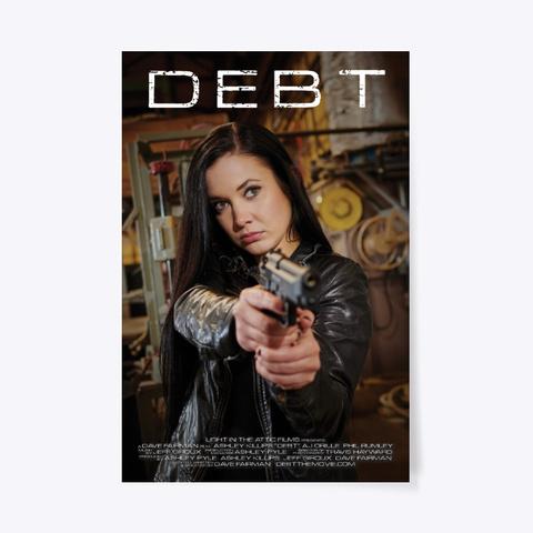 "Debt Official Movie Poster (24"" X 36"") Standard T-Shirt Front"