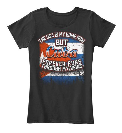 USA is My Home - Cuba Flag Shirt SweatShirt