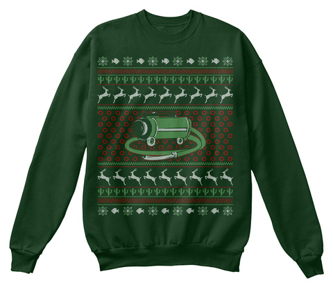 Phishmas Sweater Deep Forest  T-Shirt Front