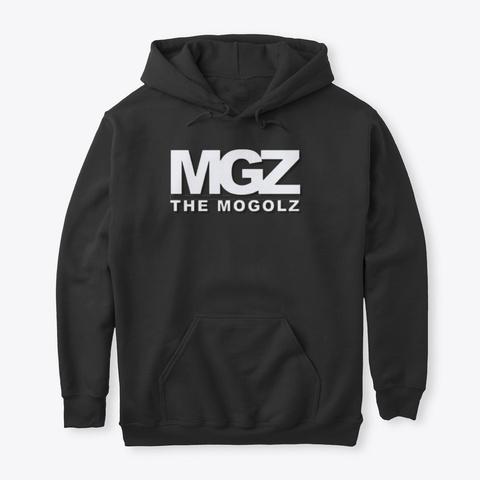Mgz Merch Black T-Shirt Front