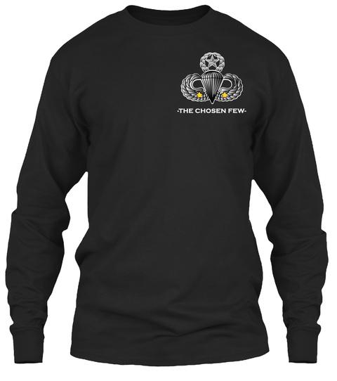 The Chosen Few Black T-Shirt Front