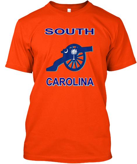 South Carolina Orange T-Shirt Front