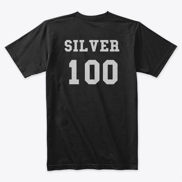 Silver 100 Premium Tee